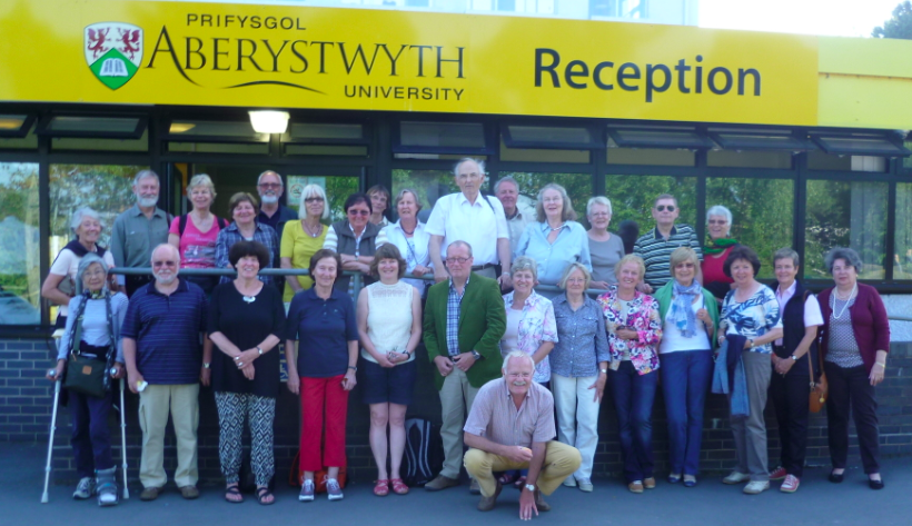 Reisegruppe 2013 des Partnerschaftsvereins